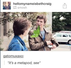 The fault in our stars metaphor. Haha, funny. (Pokemon)