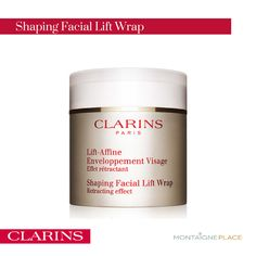 #Clarins' comforting cream-mousse relieves puffiness and roundness due to fluid retention caused by sleep, heat, stress or time of month. Use with Clarins' 2-minute Manual Auto-Lifting Method for facial contours that are instantly refined, defined, tightener and brighter. For the ultimate lift, place in refrigerator for a refreshing sensation that enhances the retraction of the skin's surface to speed results.