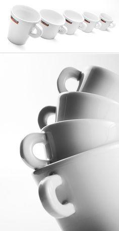 Trucillo coffee cup design
