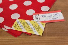 Vistenmarken – schnell gemacht – mit unseren Blanko Wertmarken. Hier von www.smallselect.com aus Japan