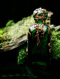 "Potion bottle by ~Gwillieth ""I will show you a love potion without drug or herb, or any witch's spell; if you wish to be loved… Love"" ~unknown"