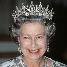 Grace, elegance & DIAMONDS - God bless the Queen & her Gorgeous diamonds.