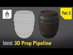 Tutorial: 3D Prop Pipeline - Part 5 - Retopology in 3D Coat - YouTube