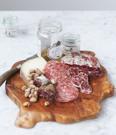 You just can't go wrong with a charcuterie board. Got my eye on this for pre-wedding grub...