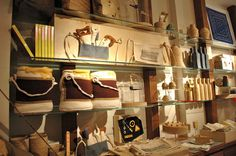 David Stark's Wood Shop. Displayed at Haus Interior.