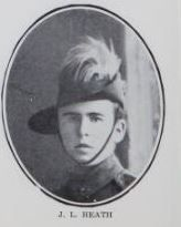 HEATH,   James   Lindsay.   No.   2029,   51st   Battery,   5th   Brigade.   Born   and   educated   at  Maryborough,   and   is   the   son   of   Peter   Adolph   Heath   and   Margaret   Jane   Heath,   of   Queen     Street,   Maryborough.