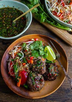 A Food, Good Food, Food And Drink, Bun Cha, Viet Food, Zeina, Meatball, Curry, Healthy Eating