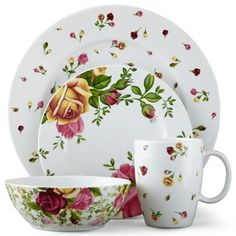 Royal Albert® Country Rose Buds Dinnerware Collection
