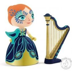 Elisa et sa harpe princesse Arty Toys - Djeco