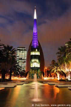 The Swan Bell Tower City & Architecture Perth Western Australia, Australia Travel, Australia Visa, Visit Australia, City Architecture, Amazing Architecture, Tasmania, Wonderful Places, Beautiful Places