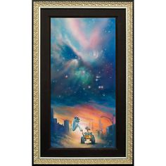 WALL-E ''The Depth of Space and Love'' Giclée by John Rowe l #disneyfavorites