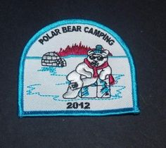 Polar Bear Camping 2012 Igloo Ice Patch #Unbranded