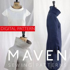 The French Dart Shift Tunic is about to become the hero of your wardrobe! Designed as a tunic to be worn over jeans or leggings and so easy and versatile to wear, you will be reaching for her everyday. Tunic Sewing Patterns, Tunic Pattern, Top Pattern, Clothing Patterns, French Pattern, Simple Dress Pattern, Japanese Sewing Patterns, Shift Dress Pattern, Modern Sewing Patterns