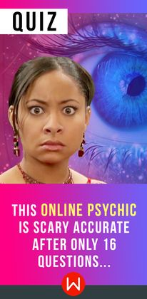 Answer these 16 questions and we'll tell you a scarily accurate truth about your life... You honestly won't believe it's real. Personality Test. Online Psychic. Psychic Quiz.