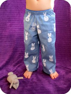 indietutes: Bunny Bottoms (free pants pattern)