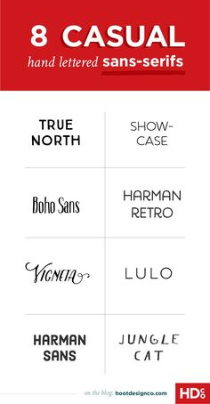 These casual hand lettered sans-serif fonts would be perfect for handmade artisan businesses or casual restaurants! Sans Serif Fonts, Handwritten Fonts, Typography Fonts, Typography Design, Poster Fonts, Website Design, Web Design, Graphic Design Tips, Cv Web