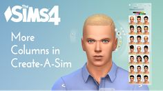Sims 4 CC's - The Best: More Columns in CAS by weerbesu