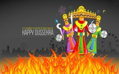 Happy Dussehra 2016 new wishes, best messages, SMS. Vijay Dashmi beautiful Wallpapers