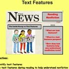 Understanding text features is an important reading skill students need to be taught that will help with informational text comprehension. In this ...