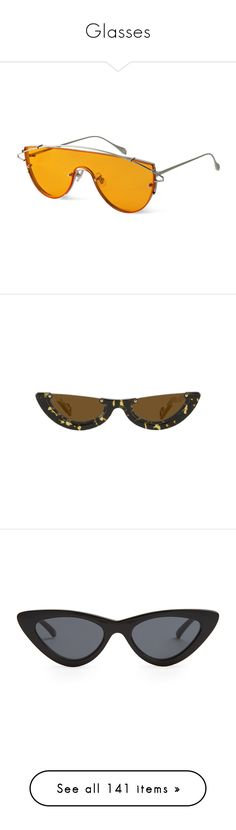 """Glasses"" by lady99inred ❤ liked on Polyvore featuring accessories, eyewear, sunglasses, glasses, gentle monster glasses, gentle monster, gentle monster sunglasses, gentle monster eyewear, le specs and le specs sunglasses"