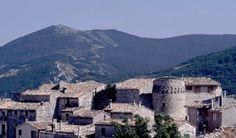 Poggio San Romualdo (once Porcarella) in Marche region, Italy