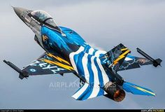 Zeus Hellenic AF Aircraft Parts, Fighter Aircraft, Fighter Jets, Military Jets, Military Aircraft, Hellenic Air Force, F 16 Falcon, Aircraft Painting, Airplane Art