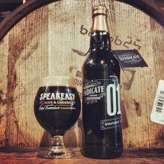 Speakeasy Brewing Syndicate Series Vintage Bottle Release