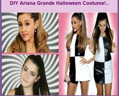 DIY Ariana Grande Halloween Costume!..