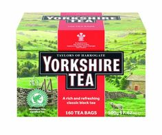 Taylors of Harrogate Yorkshire Tea Bags 160Count Pack of 6 -- You can find out more details at the link of the image. (This is an affiliate link and I receive a commission for the sales)