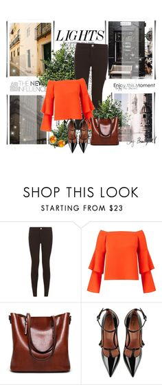 """""""Без названия #69"""" by aria-kam ❤ liked on Polyvore featuring New Look, Miss Selfridge, RED Valentino, L. Erickson and Chanel"""
