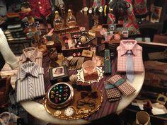 Basil's Clothier--by Denise Morales -love it as I am planning a men's shop