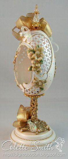 Digi-re-doo-dah: Easter Eggs Faberge Style