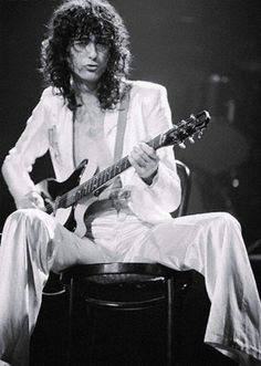 Jimmy Page playing his hearts rendition of White Summer.
