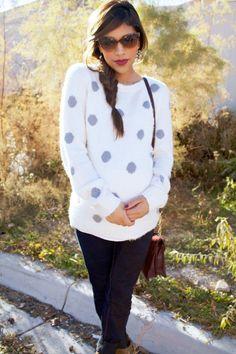 On Trend: Oversized Sweaters » mychicbump #maternity