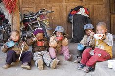 tibetan children in qinghai  | China photo
