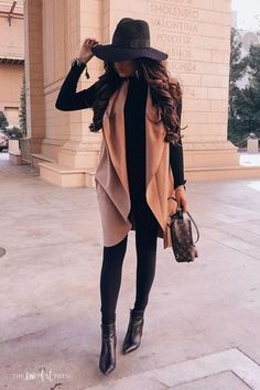 winter outfits for going out Lovely Fall Trave - winteroutfits Winter Outfits For Teen Girls, Trendy Fall Outfits, Winter Fashion Outfits, Cute Casual Outfits, Fall Winter Outfits, Stylish Outfits, Autumn Winter Fashion, Winter Night Outfit, Classy Womens Outfits