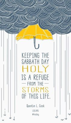 Refuge from the storms of life