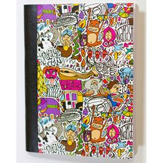 A Quirky Doodle Notebook with a spice of India ;)