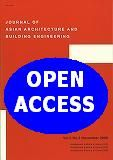 Journal of Asian Architecture and Building Engineering http://cataleg.upc.edu/record=b1420259~S1*cat