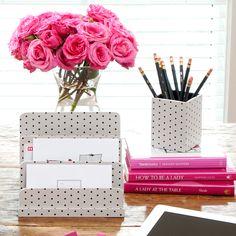 1000 ideas about cute desk on pinterest desk - Cute desk accessories and organizers ...