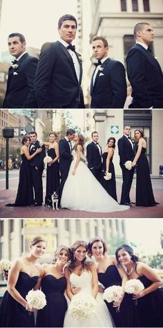 image of Black and White Wedding Photography Ideas ♥ Professional Wedding Photos by linbine