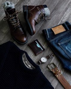 Thursday Boots are built for work & play. With the durability of work boots and sophistication of fashion boots, you'll be ready wherever the day takes you. Mens Boots Fashion, Sneakers Fashion, Men Sneakers, Rugged Style, Outfit Grid, Dress Shoes, Thursday, Cash Wallet, Woodland Park