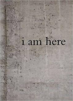 eu estou aqui