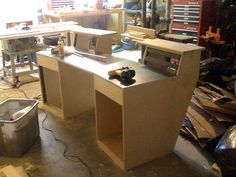 """Sound Construction"" studio desk clone build - Gearslutz Pro Audio Community"