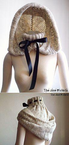 Капюшон с горлом (как связать?) / Вязание / Модный сайт о стильной переделке одежды и интерьера