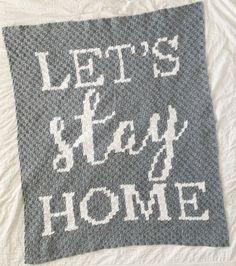 Crochet Blanket Patterns, Stitch Patterns, Crochet Afghans, Crochet Blankets, Sewing Patterns Free, Free Sewing, Corner To Corner Crochet, Lets Stay Home, Blanket Yarn