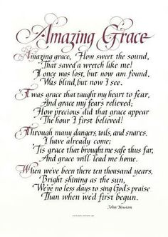 "'Amazing Grace' by John Newton ""How sweet the sound, That saved a wretch like me!"" John Newton, a gruff and bawdy slave trader, wrote this hymn after being transformed by the power of amazing grace. Christian Songs, Christian Quotes, The Words, Bible Quotes, Me Quotes, Bible Songs, Bible Scriptures, Soli Deo Gloria, Gods Grace"