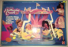 THE HEART FAMILY - MUSICAL CAROUSEL #3640 - MATTEL 1988 MISB - BARBIE VINTAGE  #Mattel