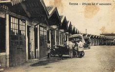 Verona - Officina 4° autocentro - 1910