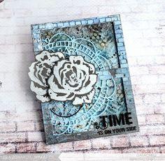 Гранжевые розы и немного о их создании